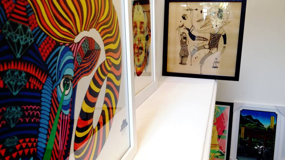 Mulga The Artist, Regan Tamanui, Robert Jenkins, Dev Ravenga and Nick Wheeler