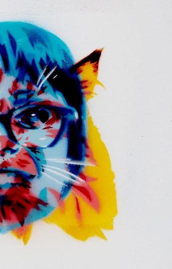Haha_Shini and cat