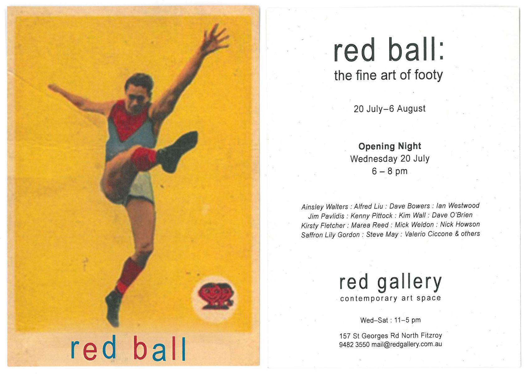 Red ball invite