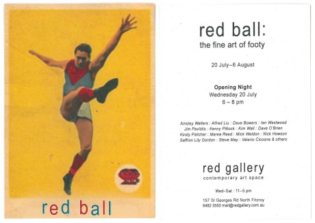 Red ball invite